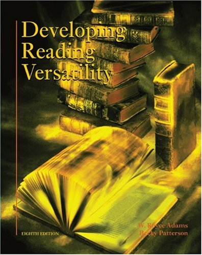 9780155069336: Developing Reading Versatility