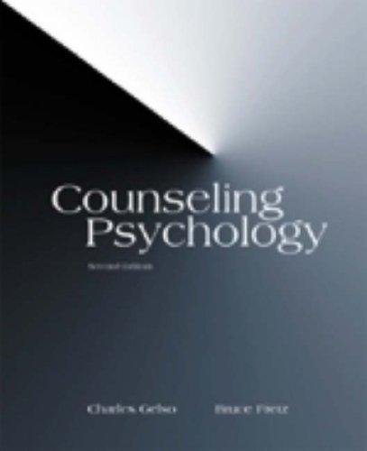 9780155071568: Counseling Psychology