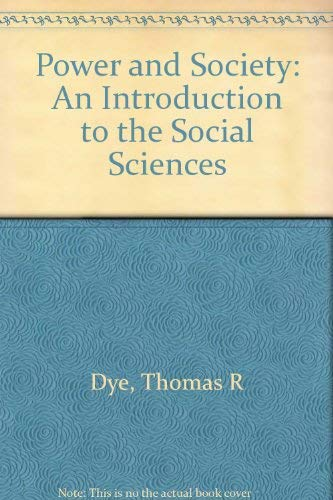 9780155072336: Study Guide for Dye's Power and Society, 8th