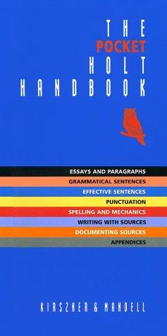 9780155072398: The Pocket Holt Handbook