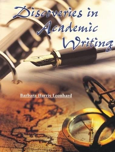 9780155072558: Discoveries in Academic Writing