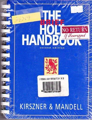 9780155073135: The Brief Holt Handbook/With Mla Update