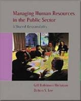 9780155073845: Managing Human Resources In The Public Sector
