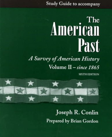 9780155075344: The American Past Study Guide II