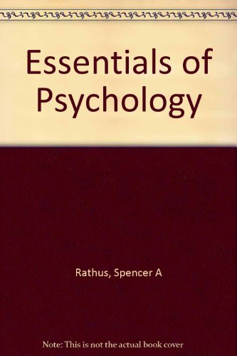 9780155075764: Essentials of Psychology
