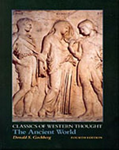 The Ancient World (Classics of Western Thought): GOCHBERG