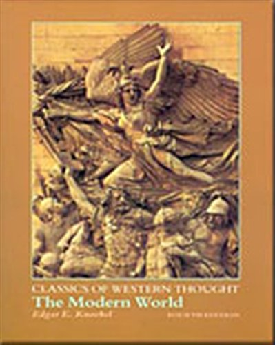 9780155076846: The Modern World (Classics of Western Thought Series, Volume III)