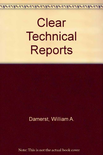 9780155076921: Clear Technical Reports