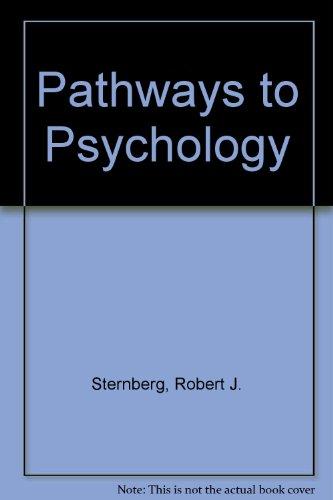 9780155077096: Pathways to Psychology