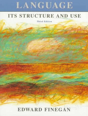 9780155078277: Language: Its Structure and Use