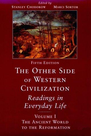 9780155078512: The Other Side of Western Civilization, Volume I