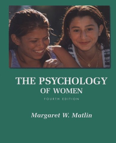 9780155078963: Psychology of Women