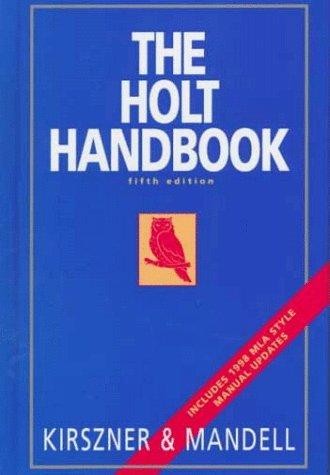 9780155079045: The Holt Handbook