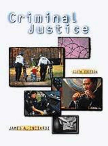 9780155080423: Criminal Justice