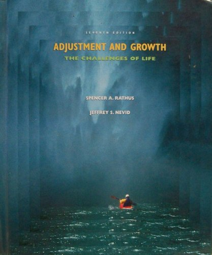 9780155080430: Adjustment and Growth: The Challenges of Life