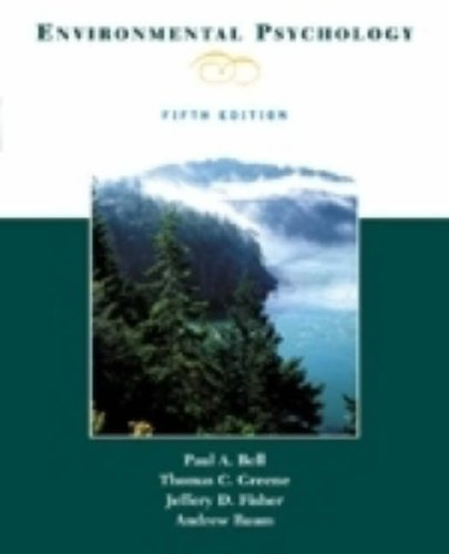 9780155080645: Environmental Psychology