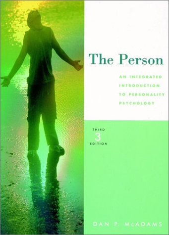 9780155080669: The Person: An Integrated Introduction to Personality Psychology