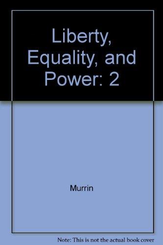 Study Guide, Volume II for Murrin's Liberty,: MURRIN