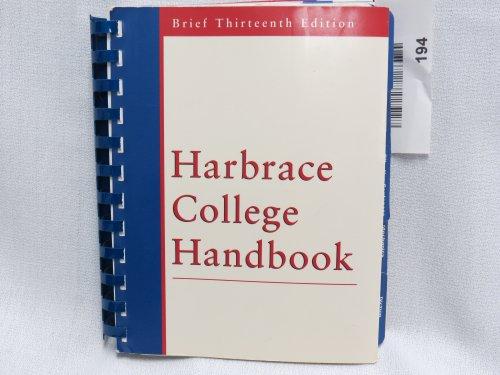 9780155081338: HARBRACE HANDBOOK,BRIEF 13ED