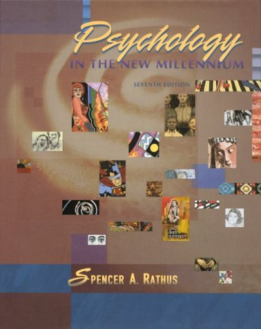 9780155082151: PSYCHOLOGY IN THE NEW MILLENNIUM,7E