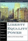 9780155082625: Liberty, Equality, Power: A History of the American People, Concise Edition (Non-InfoTrac Version)