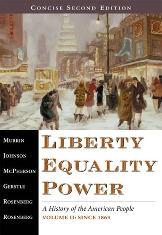 9780155082847: Liberty, Equality, Power - Concise Second Edition, Volume II