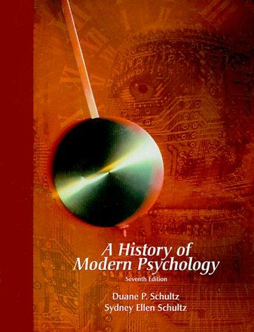 9780155083554: History of Modern Psychology