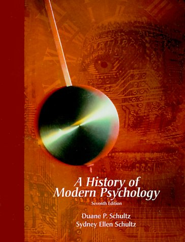 9780155083554: History of Modern Psychology
