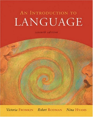 9780155084810: An Introduction to Language
