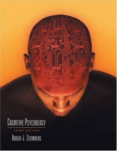 Cognitive Psychology: Robert J. Sternberg