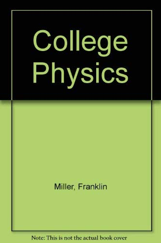 9780155117327: College Physics