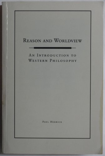 9780155130296: Reason and Worldview: an Introduction to Western Philosophy