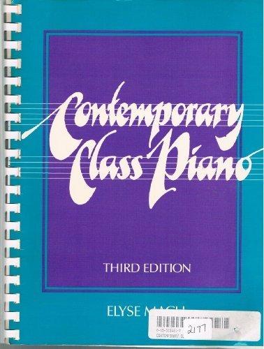 9780155134812: Mach Contemporary Class Piano 3e