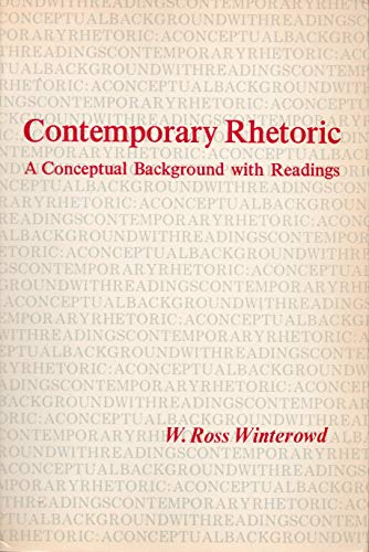9780155137158: Contemporary Rhetoric: A Conceptual Background With Readings