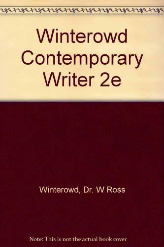 9780155137264: Winterowd Contemporary Writer 2e