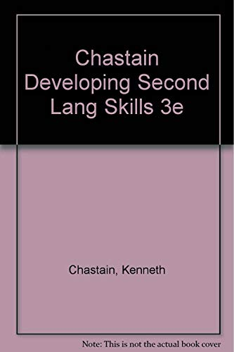 9780155176195: Developing Second Language Skills: Theory and Practice