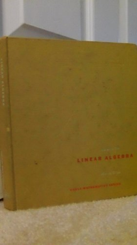 Linear Algebra (Eagle Mathematics): O'Nan, Michael