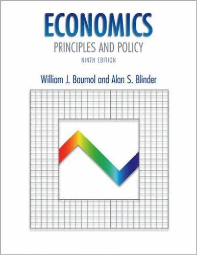 Economics: Principles and Policy: William J. Baumol,