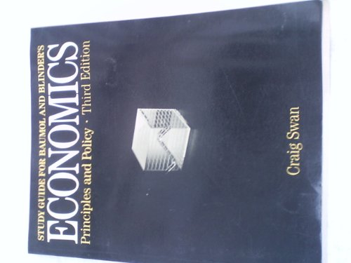 9780155188419: Economics - Principles and Policy -Third Edition