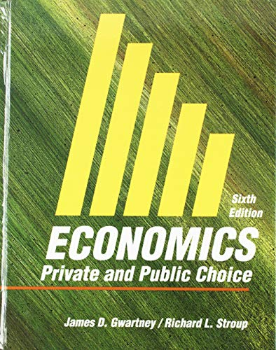 9780155189218: Economics: Private and Public Choice