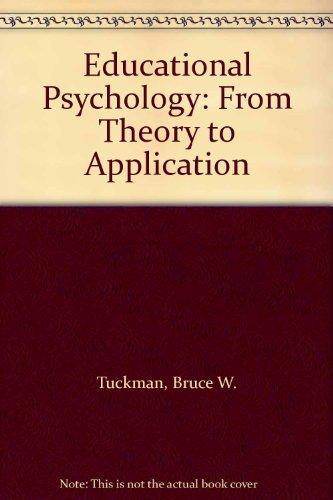 9780155208711: Educational Psychology