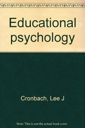 9780155208865: Educational psychology