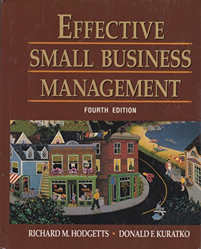 9780155209046: Effective Small Business Management