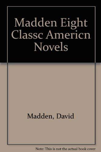 9780155209268: Eight Classic American Novels
