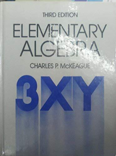 9780155209589: Elementary Algebra