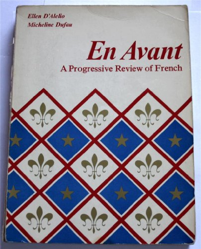 9780155225671: En Avant a Progressive Review of French