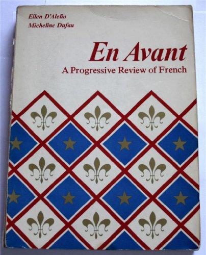 9780155225671: En Avant a Progressive Review of French