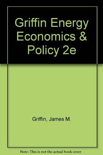 9780155226050: Energy Economics and Policy