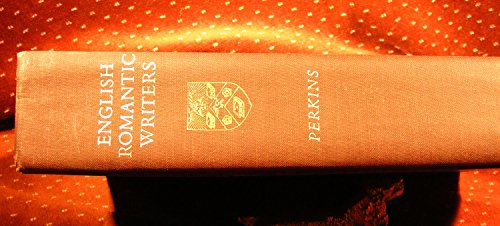 9780155226609: English Romantic Writers