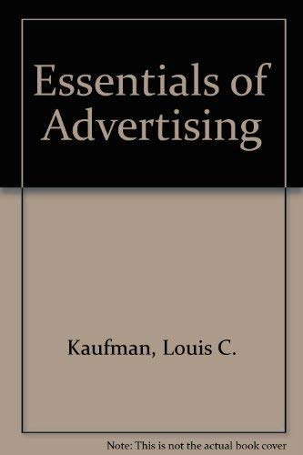 9780155241022: Essentials of Advertising